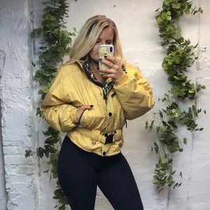 VTG Obermeyer Ski Jacket Yellow 12